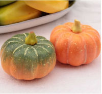 2014 wholesale artificial styroform pumpkin Vegetables for decorative christmas decoration artificial fruit