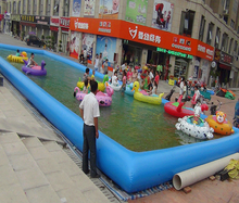 High quality portable large inflatable adult swimming water pool