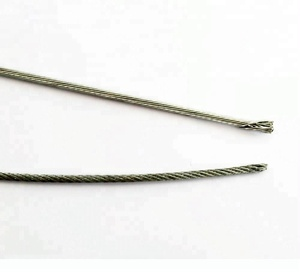 stainless inner cable steel sus304 wire rope