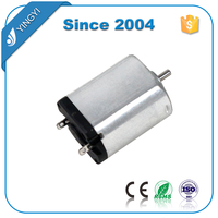 Permanent magnet electrical mini 3v dc brush motor for Inhalation therapy nebulizer