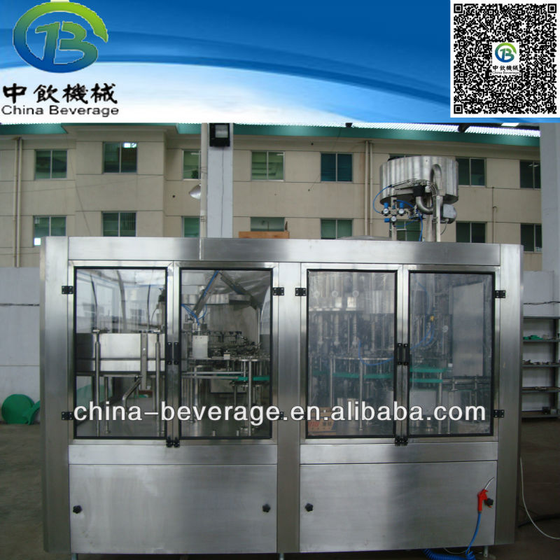 Most advanced design of energy drink production machine
