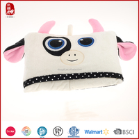 This year hot sale colorful and lovely animal baby blankets