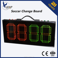 TF5202 electronic LED /portable soccer substitution board