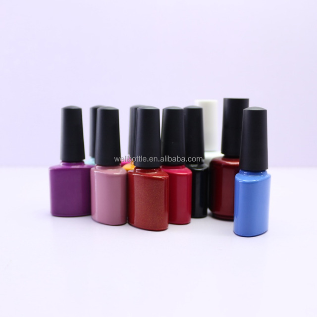 12ml hexagonal new style nail polish glass bottle NB-008Z