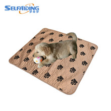 Four Paws washable pet training pads dog sleeping mat puppy pee pad China Manufacturer