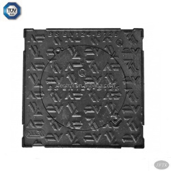 square ductile iron sand casting manhole covers with TUV certification