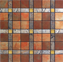 mosaic pattern acp sheet products for building sheet metal product decoration mosaic acp mosaic