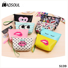 Creative Pu Large Capacity Waterproof Make Up Girls Bag