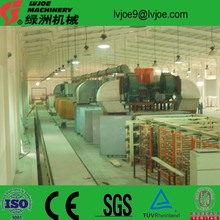 Best quality plasterboard production line with annual capacity 2-30 million square