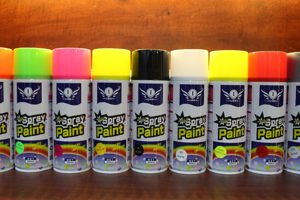 Aeropak fast dry spray paint acrylic Aeroso Spray Paint factory