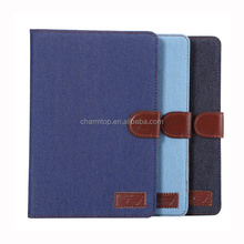 Jeans Leather Case For iPad Mini 4