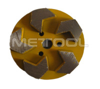 "More aggressive 4"" floor grinding disk 100mm abrasive cutting and grinding disc"