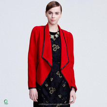 WB008 China Supplier Latest Design Blazers Woolen Wholesale Women Suits