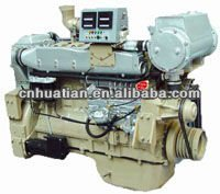 Marine Diesel Engines for Boats With or Without Gearbox (20hp-500hp)