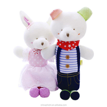 high demand products baby shower party decorations teddy bear couple yiwu plush toy from famous doll designers for baby kids
