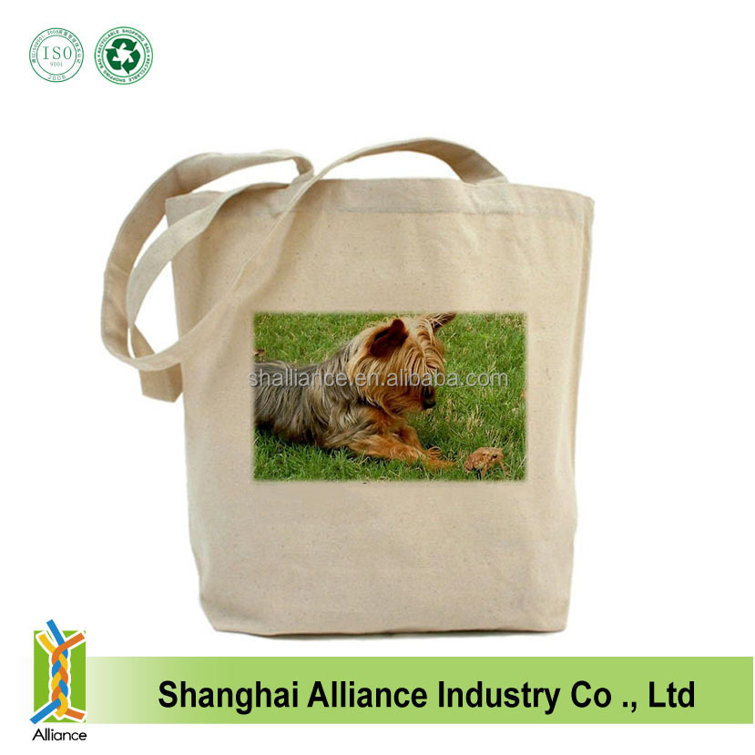Cotton Custom Reusable Shopping Eco Plain Tote Grocery Canvas Bag