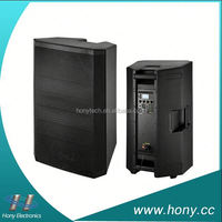 2015 hotsale high quality HPP-3612AUES 12 inch passive three way max professional dj speaker system