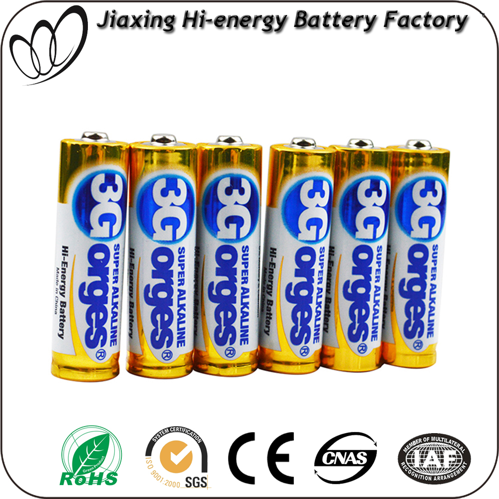 Toys aa lr6 1.5 volt alkaline primary battery