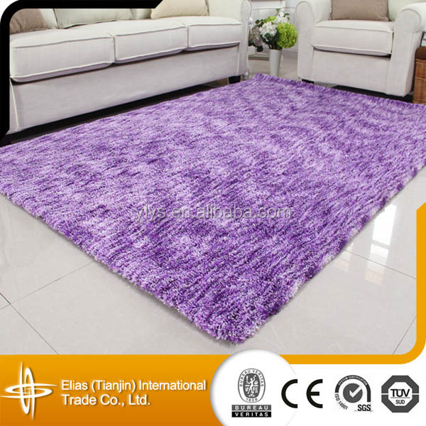 microfiber 100 polyester shaggy overdyed rug