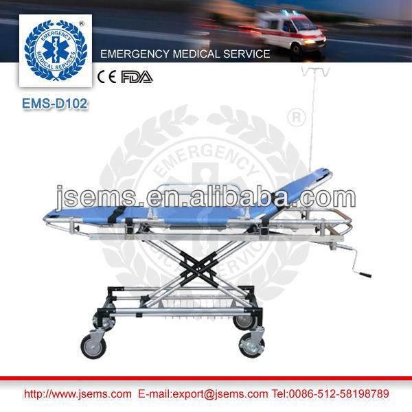 EMS-D102 hospital patient transfer emergency stretcher bed