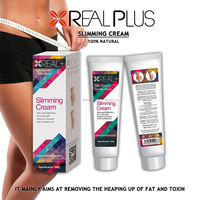 100g super effective slimming cream REAL PLUS anti cellulite gel OEM