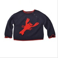 Custom knit wool sweater design for baby sweater manufacturer