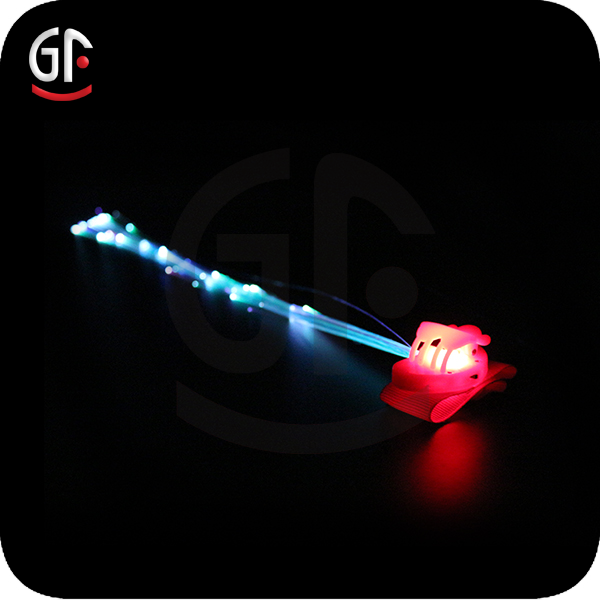 Favors Christmas Ornament Fiber Optic Glowing Led Hair Lights