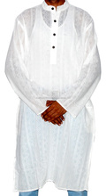 Holly Festival wear White Cotton Kurtas for Men's