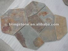 rust paving stone for outdoor floor