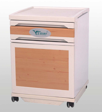 Yongxing D13 ABS Hospital Bedside Lockers Material Used Hospital Plastic One Draw Beside Table