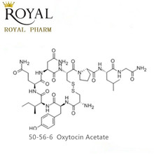 Oxytocin Acetate with top potency over 500iu/mg, 0.5g free sample could be provided for your evaluation