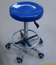High Quality Round Lab Stool with Wheels Adjustable Lab Stool PU Lab Stool Chair
