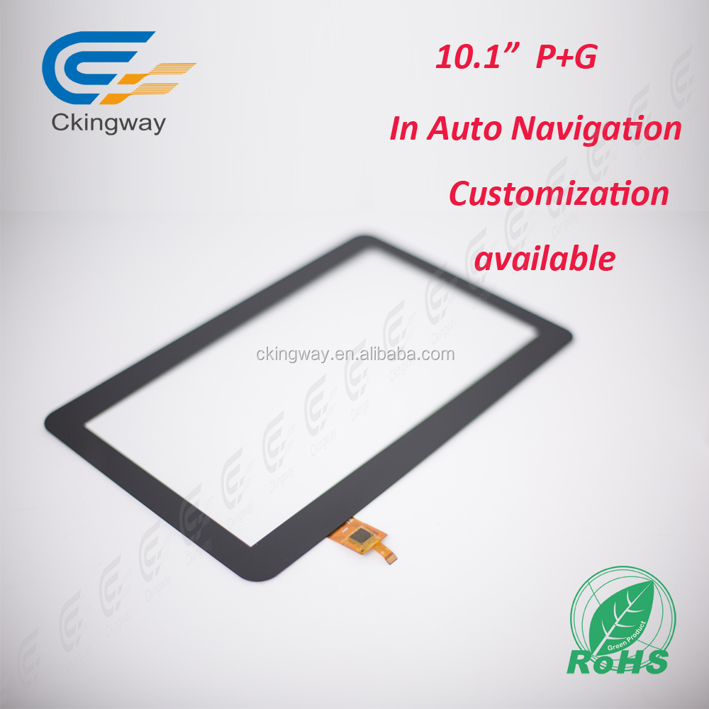 Custom or standard IIC Interface10.1'' flexible lcd touch panel