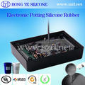 Electronic Black Potting Silicone for print circuit board