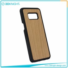 Slim Profile Anti-Scratch Real Wood case for samsung galaxy s8 cheap phone case/for samsung galaxy s8 mobile phone case