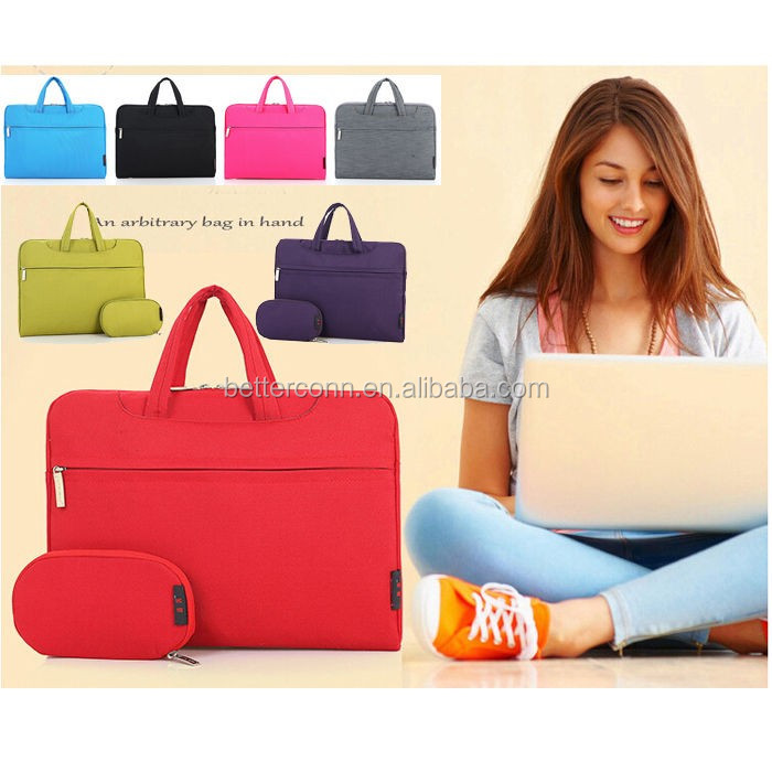 "Laptop Carry Shoulder Sleeve Case Cover Bag Nylon+velvet For Macbook 11.6 12.5 13""13.3 14""15.4 15.6"""