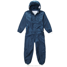 2.5mm Grid Polyester Antistatic Cleanroom Coverall