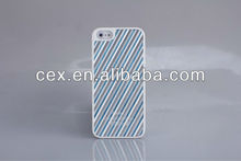 NEWEST 2013 Blue Streak Hard Case Protect Moblie Phone for Apple iPhone 5