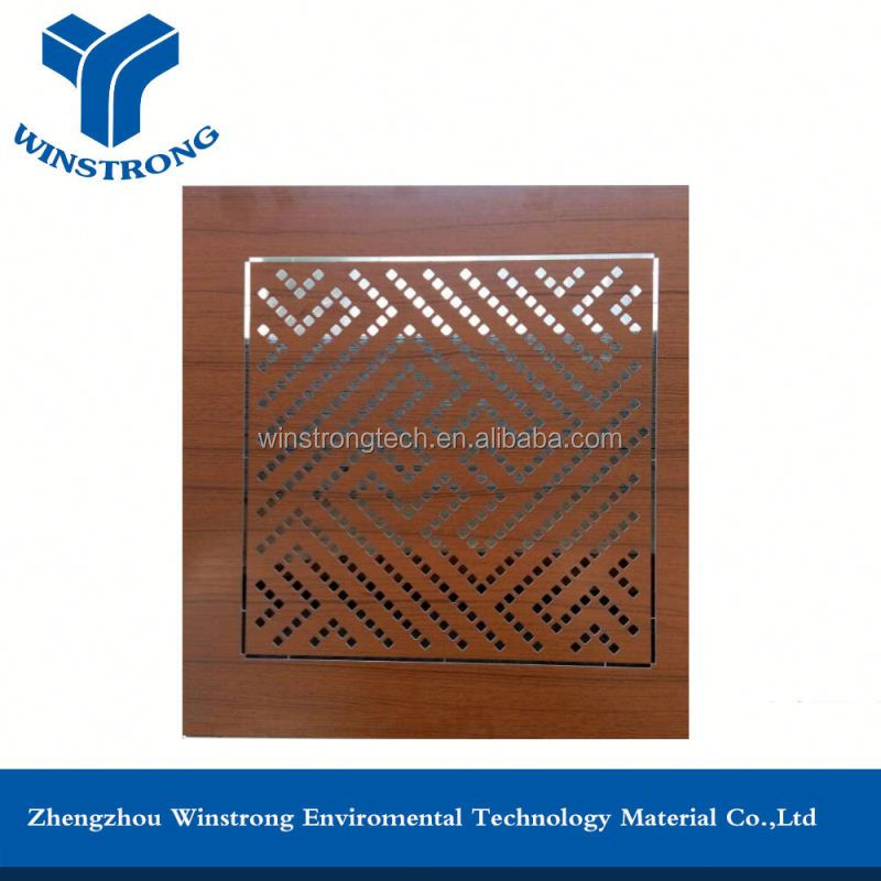 Decorative Outdoor Perforated Corrugated Metall Wall Cladding Panels
