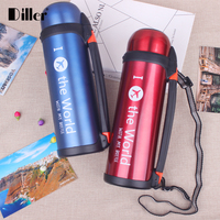 wholesale 1000ml double wall stainless steel thermos vacuum flask