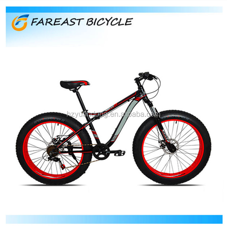 OEM manufacturer 26 inch aluminum frame snow mountain fat tyre bike
