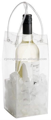 custom pvc ice bag for cooling wine wholesale