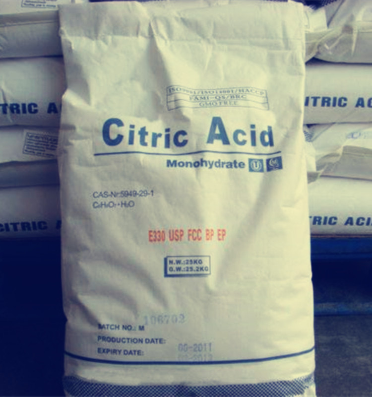 8-80mesh Citric Acid with BP USP FCC Standard