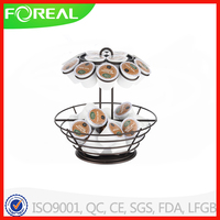 Mind Reader Coffee Pod Display Rack With Rotating Base