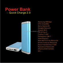 2016 Newest 10000mah li-polymer battery mobile power bank with stand support quickly charging for smartphone