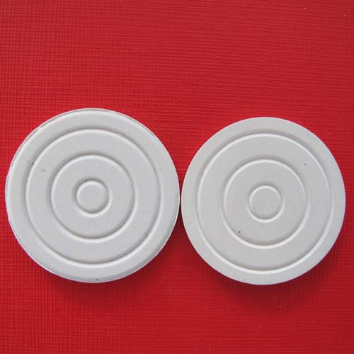 ceramic plate face powders/Cosmetic ceramics/ 40*3.4mm Round grain