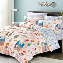 King Size 1001% Cotton 3d Bedding Set With Duvet Cover