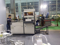 GS-230 oversea after service full automatic jointed board type paper box making machine