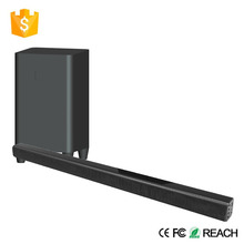 Home tv use mini soundbar with mini subwoofer