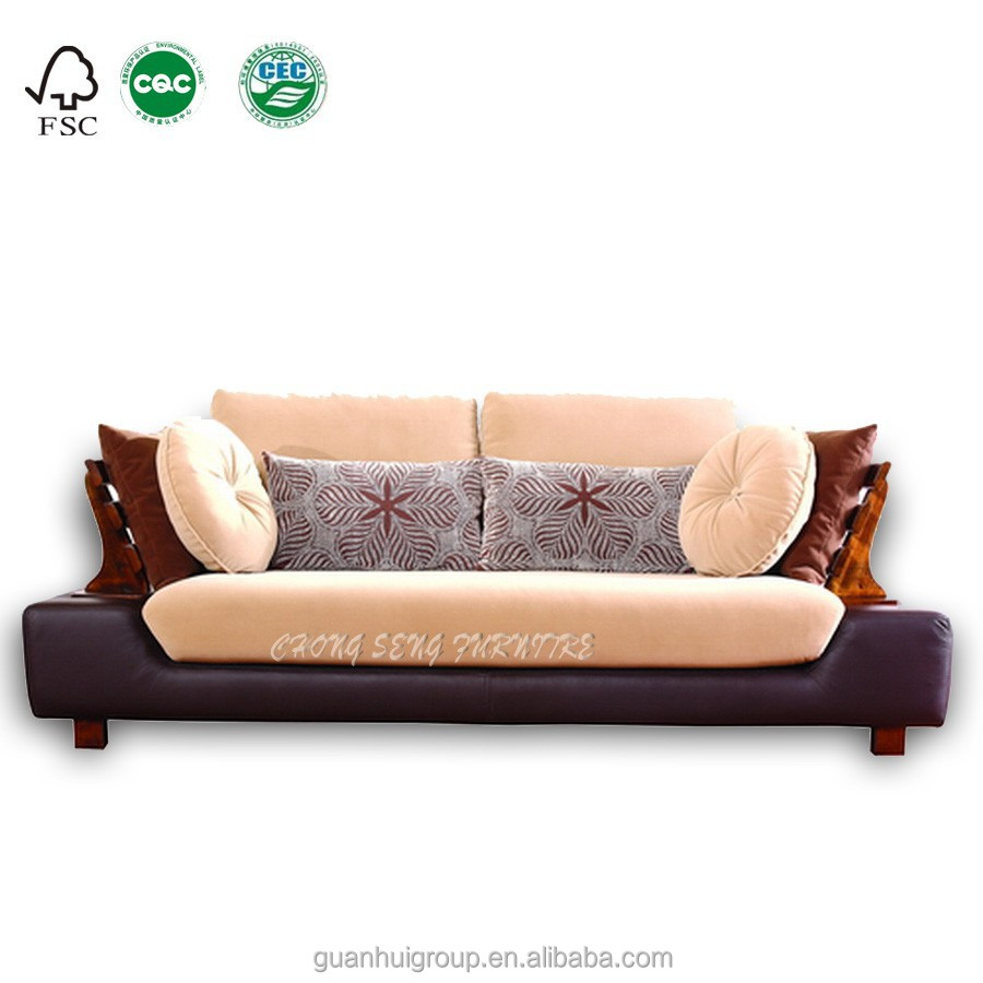 High end living room furniture Romantic & durable series italian wooden SOFA